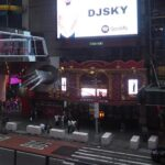 Djsky featured on Times Square NYC Billboard with Spotify