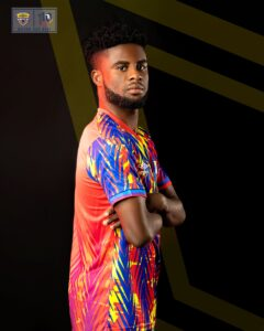 Hearts of Oak's new home and away jerseys