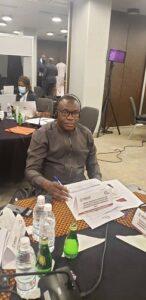 National Chairman of National Democratic Congress (NDC) Dr. Samuel Ofosu-Ampofo