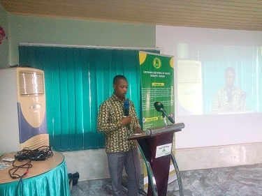 Programmes Manager and Head of Research for FOSDA, Solomon Okai