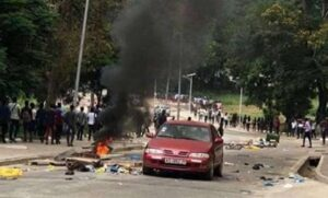 Attack on students in Ghana