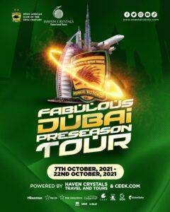Pre-season tour in Dubai