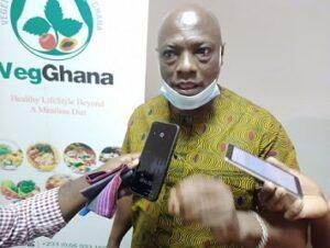 President of the Vegetarian Association of Ghana, Mr. Braimah Kola